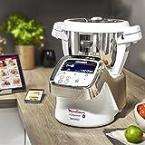 Moulinex i-Companion HF900110 - Robot de cocina Bluetooth 13 programas y 6 accesorios capacidad 6 personas, incluye cuchilla picadora, batidor,...