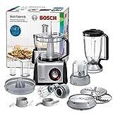 Bosch MC812M844MultiTalent 8 - Procesador de alimentos / robot de cocina, 1.250 W, 3.9 litros de capacidad, multi-accesorios, color negro y...