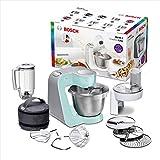 Bosch MUM58020 CreationLine Robot de cocina con accesorios, 1000 W, color menta