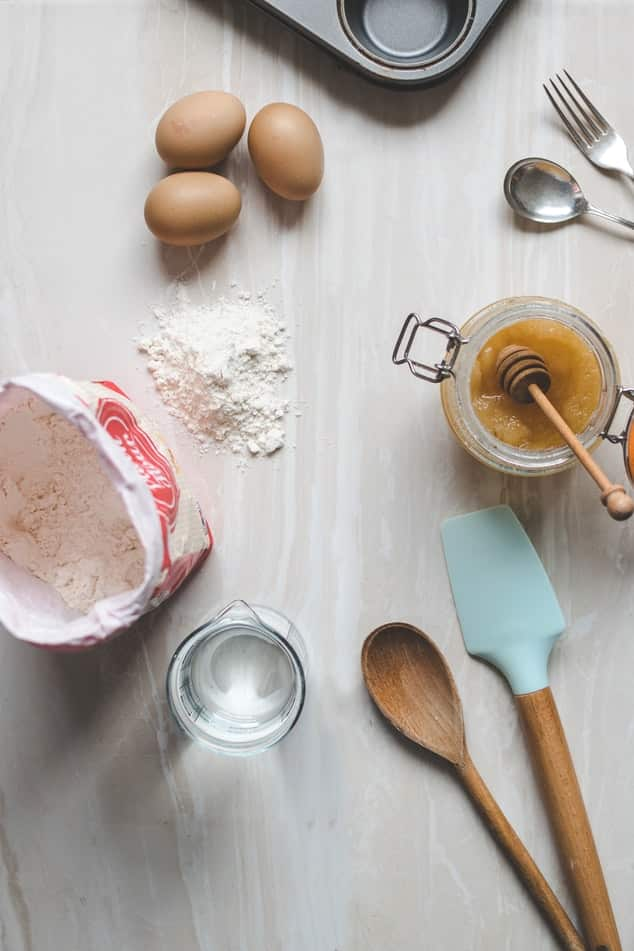 utensilios de cocina de madera
