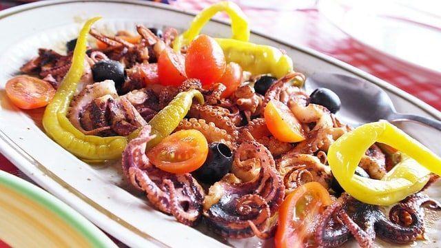 Platos típicos de Croacia